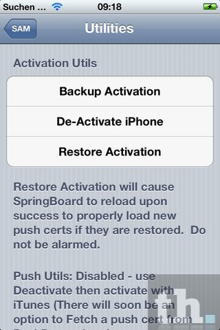 De-Activate iPhone