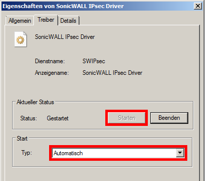Sonicwall failed to open ipsec