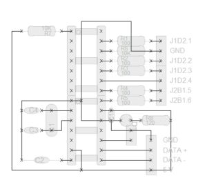 Xbox 360 USB Nand SPI Flasher Layouts – Bauteilliste
