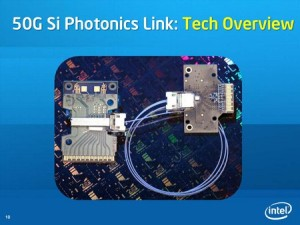 "Intels ""Silicium Photonics Link"" schafft 50 Gbit/s"