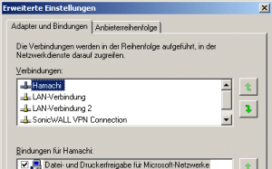 Hamachi unter Windows 7 konfigurieren