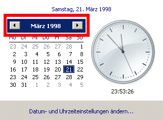 Windows date