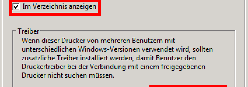 Windows Server 2008 R2 - Freigabeoptionen ändern