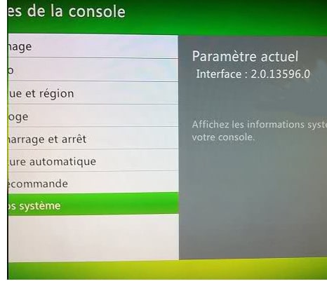 XBOX 360 - Dashboard leak