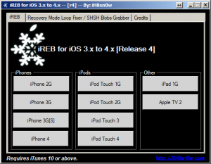 Download: iREB r4 für Custom iOS Firmware