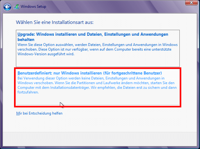 windows_8_setup_benutzerdefiniert