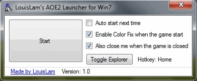 Age of Empires 2 - Launcher