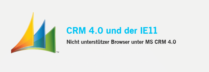 CRM 4.0 - IE11