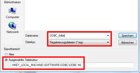 odbc_registry_export_save