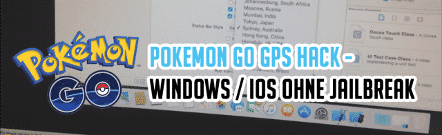 Pokémon GO – GPS Hack – Windows / iOS ohne Jailbreak – DEUTSCHE Anleitung (German)