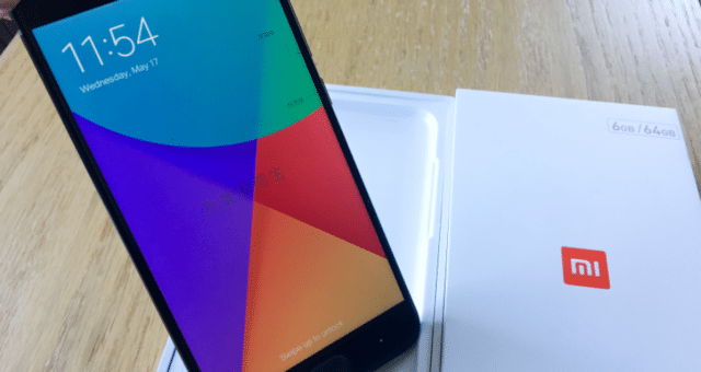 Xiaomi Mi 6 – Bilder vom Unboxing und Hands-On
